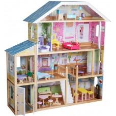 Drevený domček pre bábiky, 1190 x 316 x 1234 mm