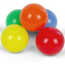Pestrofarebné loptičky, detské, 500 ks