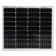 Fotovoltaický solárny panel, 50 W, monokryštalický