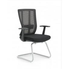 Kancelárska stolička Delaware SKID - čierna