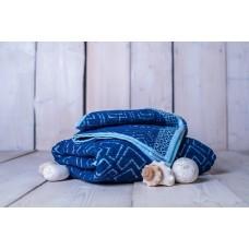 Set osuška + uterák Club - modrá