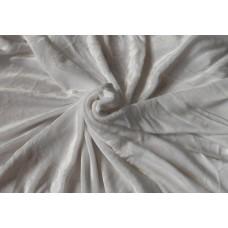 Mikroplyšová plachta 90 x 200 cm - biela