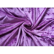 Mikroplyšová plachta 180 x 200 cm - fialová