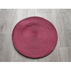 Prestieranie okrúhle 35 cm - vínové