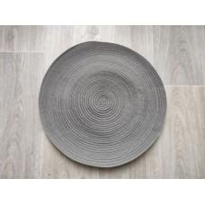 Prestieranie okrúhle 38 cm - sivý melír
