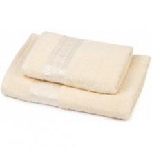 Set osuška + uterák Florina - smotanová