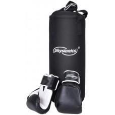 Boxovacie vrece s boxerskými rukavicami pre deti, 25 x 60 cm