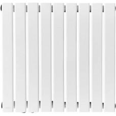 Radiátor s pripojením na stred, biely, 600 x 614 x 52 mm