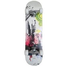 Skateboard závodní se zpevněným podvozkem