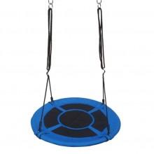Marimex skladací hojdací kruh, modro-čierny
