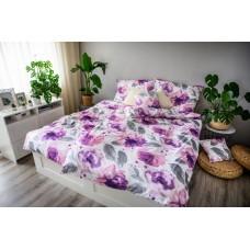 3-dielne posteľné obliečky, Saten EMA Peony