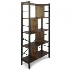Miadomodo Retro knižnica 79x33x155 cm - vintage