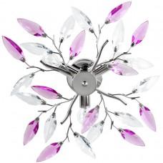 JAGO Stropné svetlo s dizajnom listov, A++, priemer 45 cm