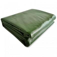 JAGO Plachta 650 g/m², hliníkové oká, zelená, 4 x 7 m