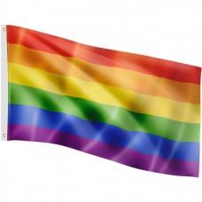 FLAGMASTER Vlajka dúha, 120 x 80 cm