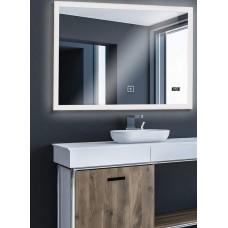 Aquamarin Kúpeľňové zrkadlo s LED osvetlením, 80 x 60 cm