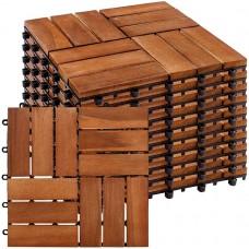STILISTA drevené dlaždice, mozaika 3, agát, 1 m²