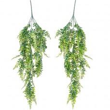 PLANTASIA Sada umelých závesných rastlín, 120 cm, 2 ks
